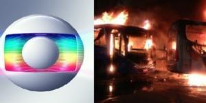 Famosos apoiaram greve geral, que registrou casos de incêndios de veículos