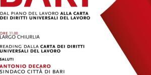 Locandina evento 1° Maggio 2017 - Festa dei lavoratori