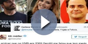 Titi Müller discutiu com famosos após pedir indicações de filmes