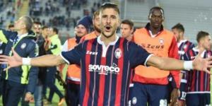 Diego Falcinelli, attaccante del Crotone.