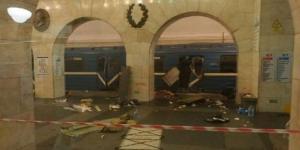 San Pietroburgo, una delle prime immagini dalla stazione della metropolitana