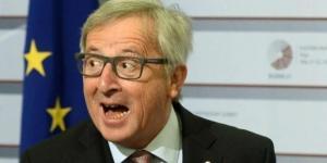 EU-Chef Juncker spricht mit Aliens - oder ist einfach nur hackedicht. [blastingnews picture archives]