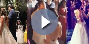 Silvio se emociona e rouba a cena em casamento de Patrícia Abravanel