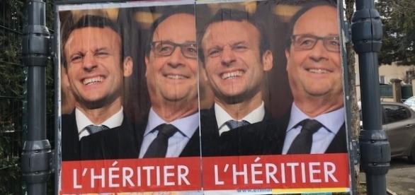 Les affiches anti-Macron fleurissent les rues !