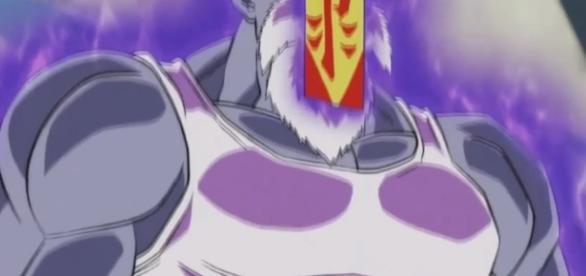 Roshi se enfrenta a Goku en el dojo