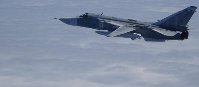 Los F-18 del Destacamento Ámbar interceptan su primer objetivo