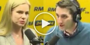Joanna Schmidt ośmiesza się na antenie radia RMF.