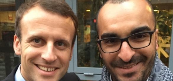 """Emmanuel Macron défend """"bec et ongles"""" l'islamiste et référent d'En Marche Mohamed Saou"""