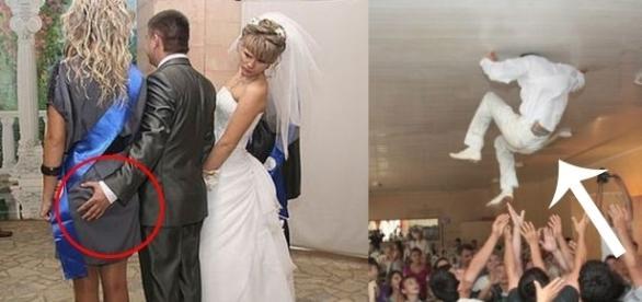 Muitas coisas podem acontecer em um casamento