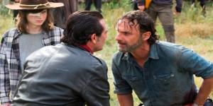 Walking Dead Nick and Negan screenshot image via Flickr.com