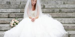 imagem do site ''os curiosos'' que retratam a infelicidade da noiva