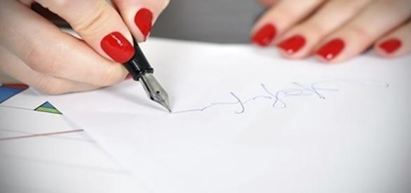 O que a sua letra revela sobre sua personalidade