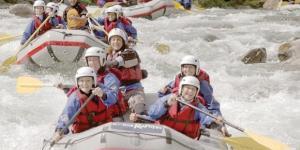 Per divertirsi in canoa bisogna essere affiatati