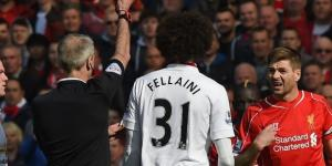 Red card Gerrard is pivotal as Liverpool outshone by Manchester ... - provenquality.com