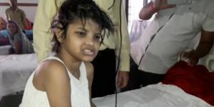 Fetița a ajuns la spital într-o stare deplorabilă