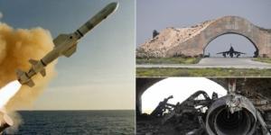 Rachetele Tomahawk au lovit avioanele protejate de adăposturile de beton și infrastructura de comandă - FOTO: dailymail.co.uk - wikimedia