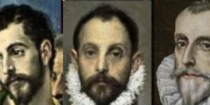 Tres retratos de Rodrigo Vázqiez de Arce