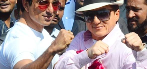 Jackie Chan visits India for Kung Fu Yoga | Lehren.com - lehren.com BN support