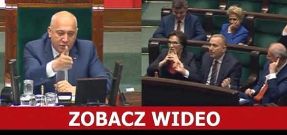 Marszałek Brudziński zgasił Grzegorza Schetynę.