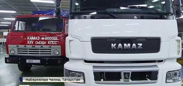 Zakłady samochodowe KAMAZ pracują nieprzerwanie od 40 lat.