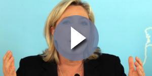Marine Le Pen, tra i leader politici più delusi dopo l'attacco di Trump in Siria