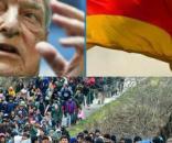 Niemcy i Soros chcą nam wepchnąć imigrantów