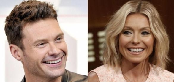 Admirable Kelly Ripa Announces That Ryan Seacrest Is Her New Co Host On Live Hairstyle Inspiration Daily Dogsangcom