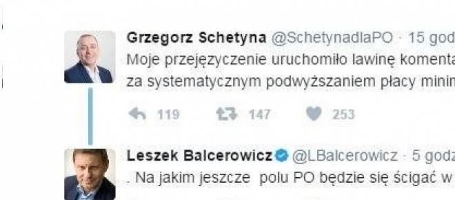 Kłótnia w rodzinie? ZOBACZ potyczkę Balcerowicza i Schetyny na Twitterze [FOTO]