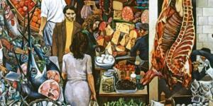 La Vucciria, dipinto di Renato Guttuso