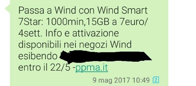 Wind Smart 7Star prorogata vediamo se conviene