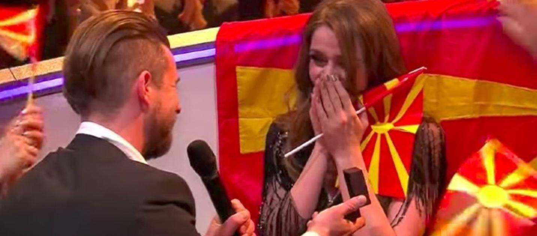 Matrimonio In Diretta : Eurovision proposta di matrimonio in diretta per la