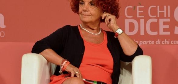 Il ministro dell'Istruzione Valeria Fedeli