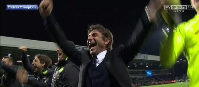 Chelsea are the Premier League Champions for the 2nd time in 3 years!