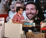 Ellen Degeneres accueillant Carte Wilkerson, sur le point de battre le record du monde de tweet