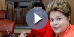 Jeferson Monteiro e Dilma Rousseff