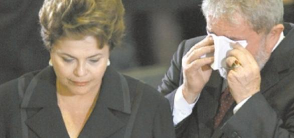 Ex-presidentes Lula e Dilma tiveram momentos de atrito, durante a época da campanha presidencial de 2014