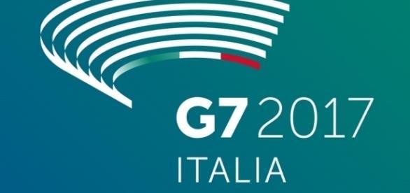 Il logo della Presidenza italiana del G7