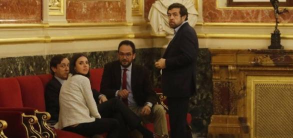 Los portavoces de los cuatro principales partidos