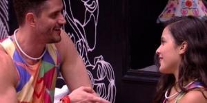 Depois de toda reviravolta, o ex-BBB não acredita que possam ficar juntos novamente (Foto - Globo)