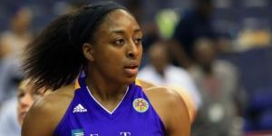 Nneka Ogwumike helped lead the WNBA Champion Sparks to a season opening win on Saturday. [Image via Blasting News image library/deepishthoughts.com]