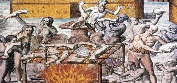 El canibalismo también se practicaba en Europa.