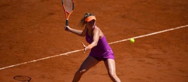 Elina Svitolina earns Halep final in Rome as Murguruza withdraws during semi