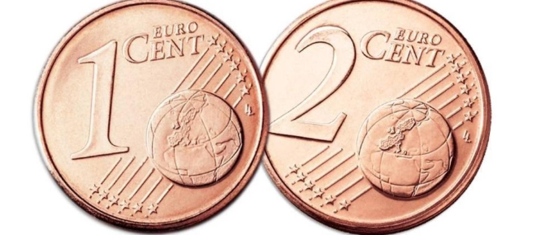 dal 2018 stop alle monete da 1 e 2 cent ecco gli On tà le dà corative perforà e