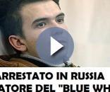 """Rinchiuso in carcere a San Pietroburgo l'inventore del """"rituale del suicidio"""" chiamato """"Blue Whale""""."""