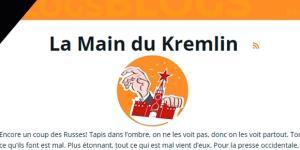 La rubrique satirique La Main du Kremlin, sur Sputnik News, réfute les accusations d'ingérence visant Moscou