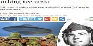 Periódico do Reino Unido destaca depoimentos de militares que viram UFOs (Express)