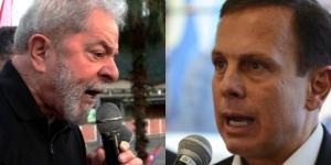 Prefeito de SP, João Doria, fez uma análise sobre uma eventual disputa eleitoral com o ex-presidente Lula, para presidência em 2018