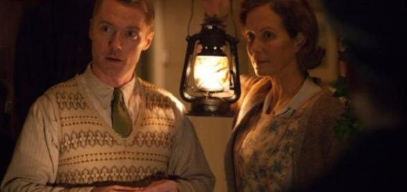 Jenny Seagrove (right) and co-star Ronan Keating in a scene from Another Mother's Son