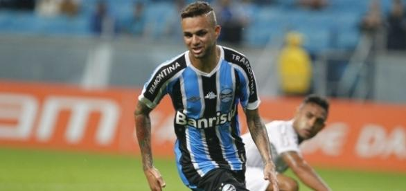 Luan atua no Grêmio desde 2015 (Foto: Lucas Uebel/Grêmio)