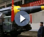 Il nuovo missile modello 'Hwasong 12' testato dal regime di Pyongyang